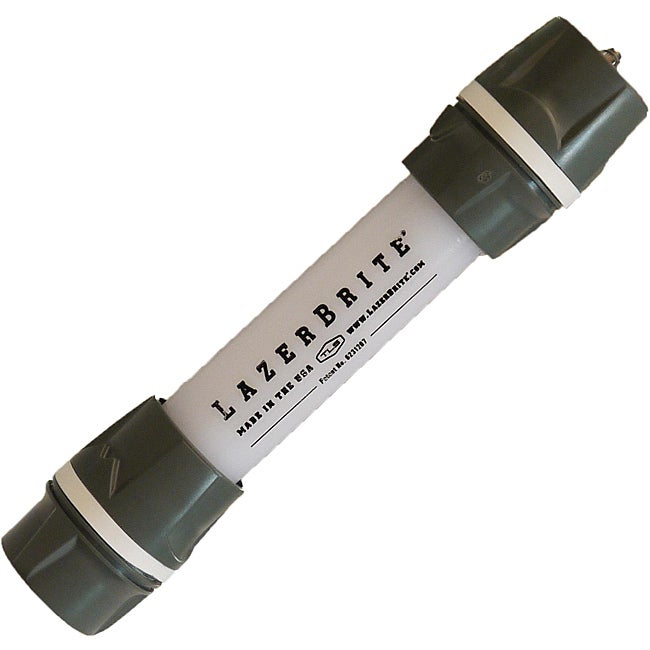Lazerbrite Multi-Lux White and White Flashlight