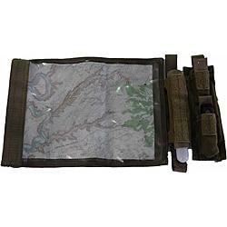 LazerBrite Coyote Brown Map Case Kit