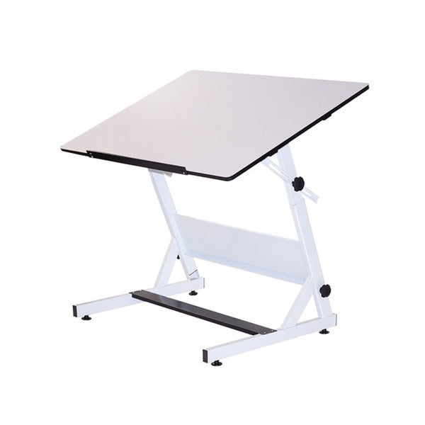 "Martin Universal Design MXZ Fully Adjustable Drawing/Art Table (42"" x 30"") with Shelf"