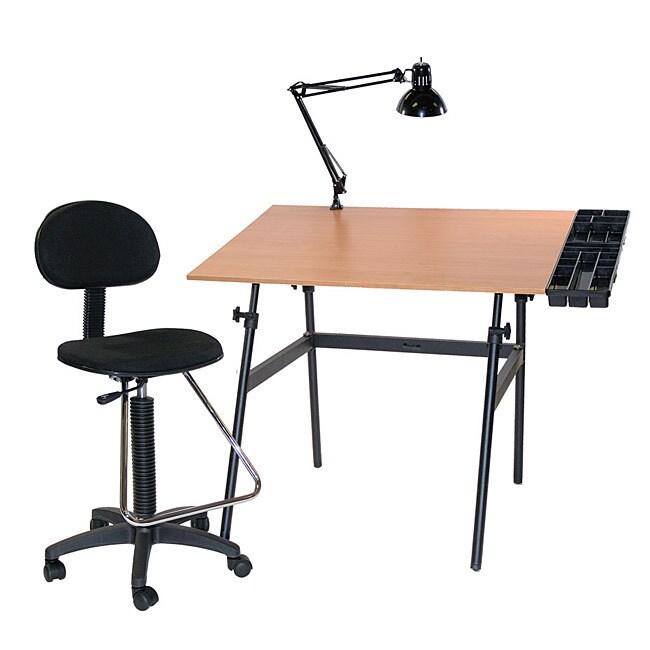 Martin Universal Design Berkeley Four-Piece Table, Tray, ...