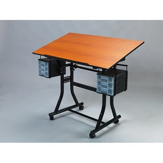 Martin Universal Design Creation Station Deluxe Black Drafting Table