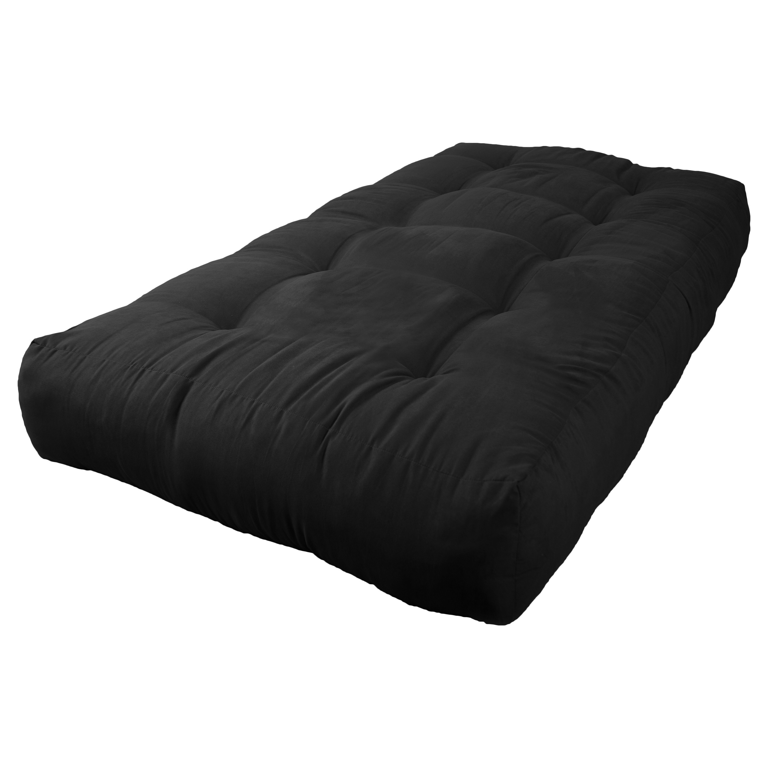 Blazing Needles Vitality 10 Inch Micro Suede Twin Size Futon Mattress