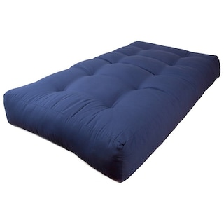 Blazing Needles Renewal Twin 10 Inch Twill Futon Mattress