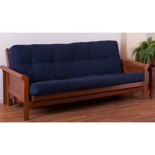 Blazing Needles Renewal Twill Fabric 10-inch Queen-size Futon Mattress (More options available)