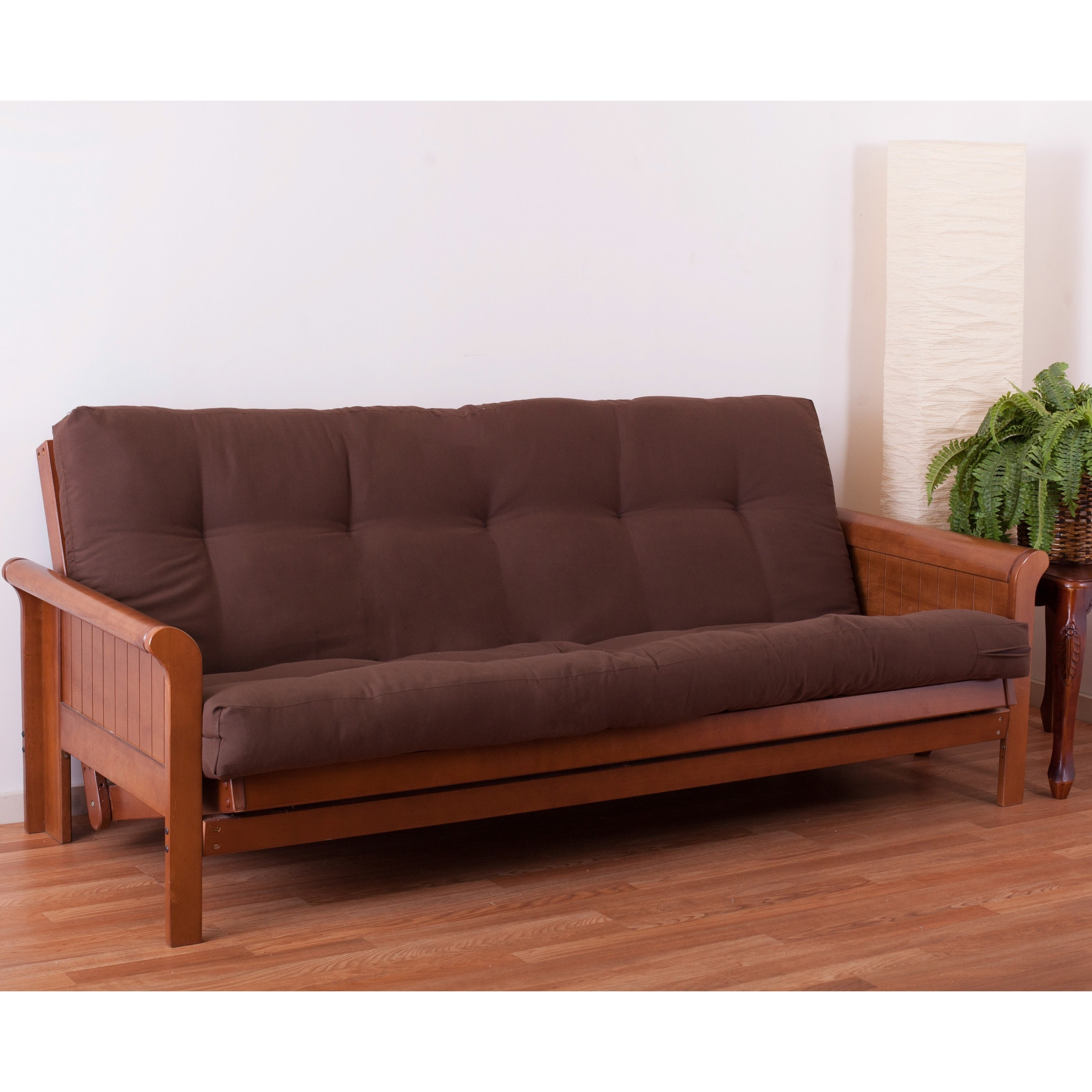 free bed innerspring product sized somette suede frame overstock phoenix and size futons queen shipping sofa garden today futon mattress home with hardwood