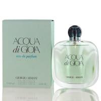 Giorgio Armani Acqua Di Gioia Women's 3.4-ounce Eau de Parfum Spray