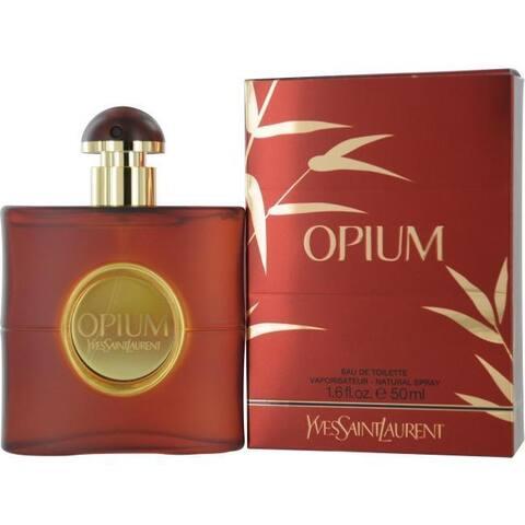 Yves Saint Laurent Opium Women's 1.6-ounce Eau de Toilette Spray
