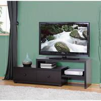Porch & Den Victoria Park Hendricks Isle Asymmetrical TV Stand