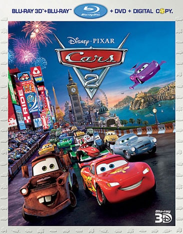Cars 2 3D (Blu-ray/DVD) - Thumbnail 0