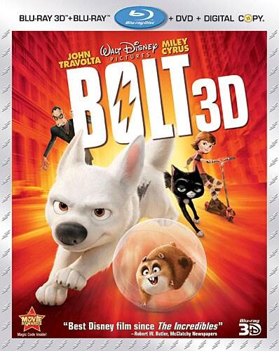 Bolt 3D (Blu-ray/DVD)