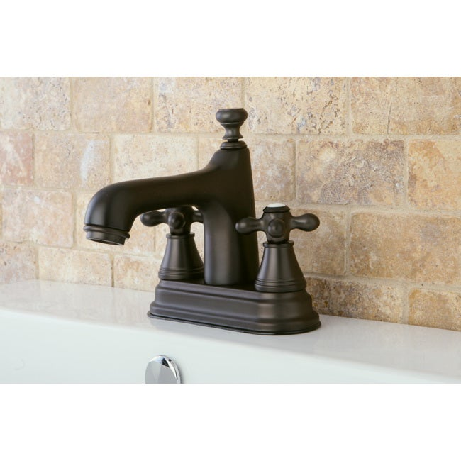 Shop Oil Rubbed Bronze Bathroom 4 Inch Centerset Faucet Free Shipping Today