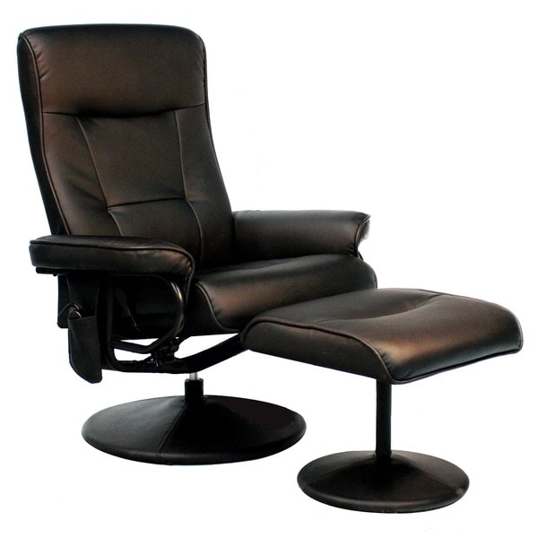Relaxzen Brown Leather Massage Recliner (8-Motors) - Free Shipping Today - Overstock.com - 13818765  sc 1 st  Overstock.com & Relaxzen Brown Leather Massage Recliner (8-Motors) - Free Shipping ... islam-shia.org