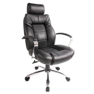 OneSpace Commodore II Big and Tall Leather Executive Chair