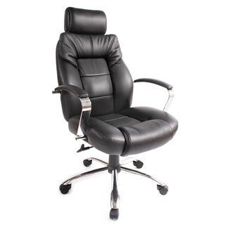 Comfort Products Commodore II Big and Tall Leather Executive Chair