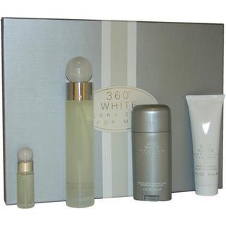 Perry Ellis 360 White Men's 4-piece Fragrance Set