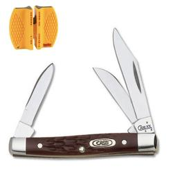 Case Cutlery Working Small Stockman Knife and Sharpener