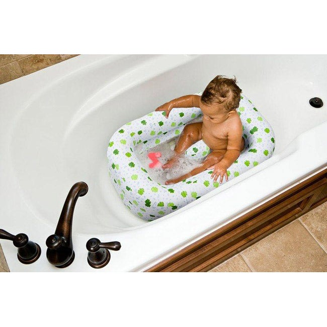 mommy 39 s helper froggie inflatable bath tub free shipping on orders over 45. Black Bedroom Furniture Sets. Home Design Ideas