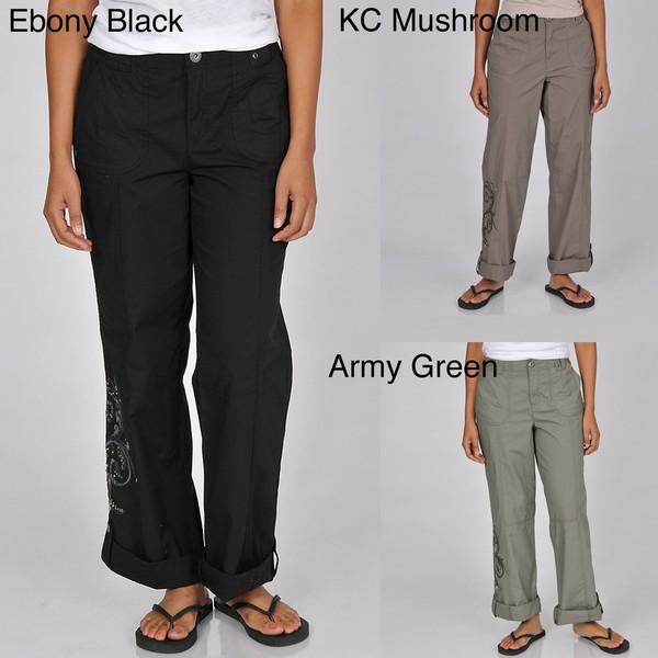 cfeb785142202 Shop Khakis   Co Studio Women s Convertible Utility Pants - Free ...