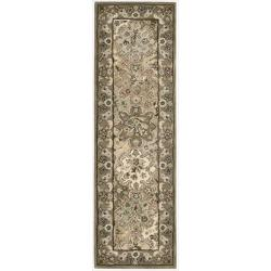 "Nourison Hand-Tufted Caspian Multicolor Wool Runner Rug (2'3"" x 7'6"")"