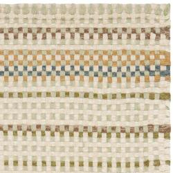 Safavieh Hand-made Reversible Quilt Cottage Multi Wool Rug (3' x 5') - Thumbnail 1