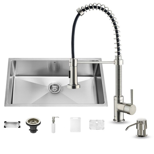 Stainless Steel Sink Colander : ... Stainless Steel Undermount Kitchen Sink and Laurelton Stainless Steel