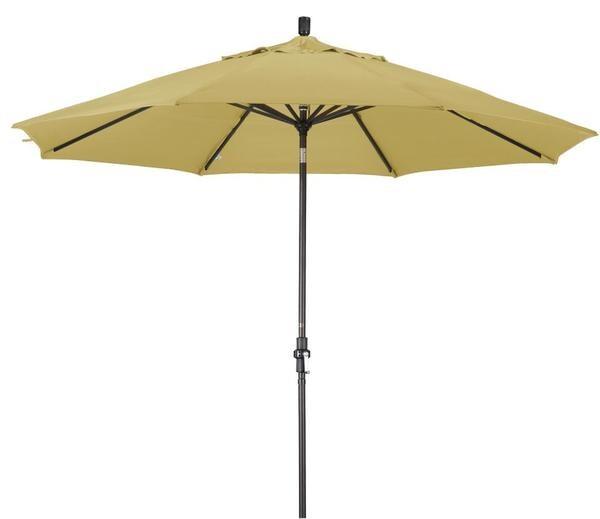 alluminum 11 ft wheat patio umbrella with sunbrella - Sunbrella Patio Umbrellas