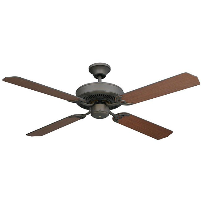Transitional Oil Rubbed Bronze Ceiling Fan - Thumbnail 0