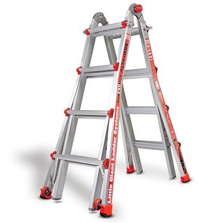Little Giant Alta-One 15 ft. Multi-Use Aluminum Type 1 Ladder - Silver