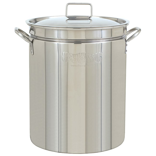 Bayou Classic 36-quart Stainless Steel Stockpot with Lid