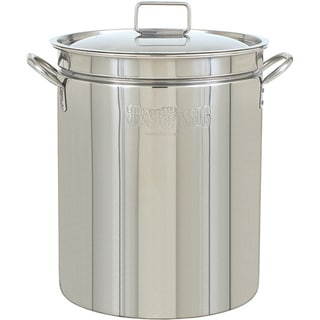 Link to Bayou Classic 44-quart Stainless Steel Stockpot with Lid Similar Items in Grills & Outdoor Cooking