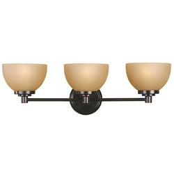 Woodbridge Lighting Ajo 3-light Cordovan Bath Wall Sconce