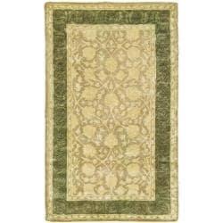 Safavieh Handmade Silk Road Ivory/ Sage New Zealand Wool Rug (3' x 5')