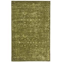 Safavieh Handmade Silk Road Sage New Zealand Wool Rug (5' x 8') - Thumbnail 1