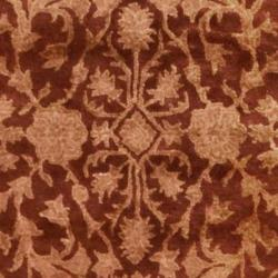 Safavieh Handmade Silk Road Rust New Zealand Wool Rug (4' x 6')