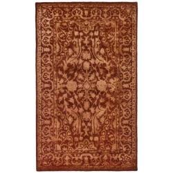 Safavieh Handmade Silk Road Majestic Rust New Zealand Wool Rug (3' x 5')