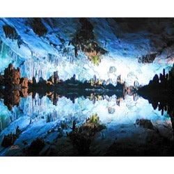 """Stewart Parr """"Guilin, China Reed Flute Cave"""" Unframed Photo Print"""