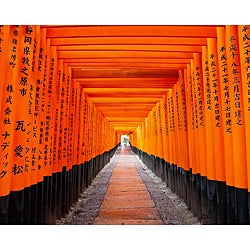 "Stewart Parr ""Japanese Fushimi Inari Shrine"" Unframed Photo Print"