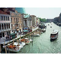 Stewart Parr 'Venice, Italy - The Main Canal' Small Unframed Photo Print