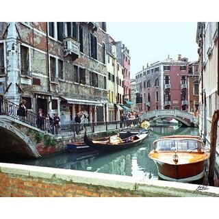 Stewart Parr's 'Venice, Italy - an inner canal' Photo Print