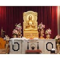 "Stewart Parr ""India - Buddhist temple altar"" Unframed Photo Print"
