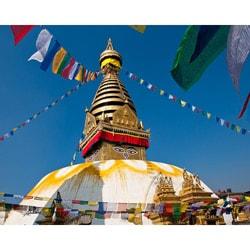 Stewart Parr 'India - Buddhist Shiva Temple' Unframed Photo Print