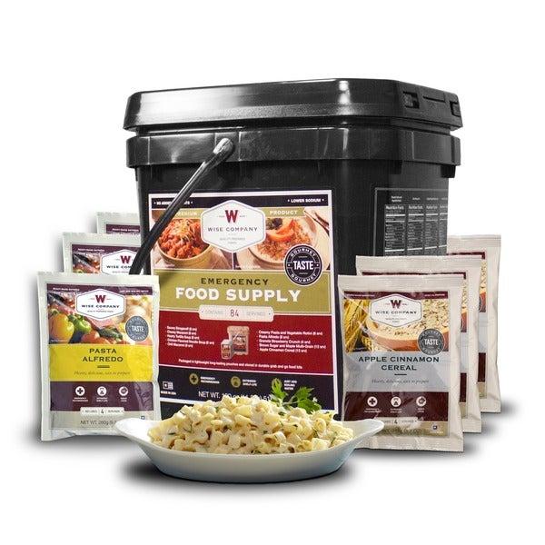 Wise Company Grab N' Go 84-serving Breakfast/ Entree Long Term Food Bucket