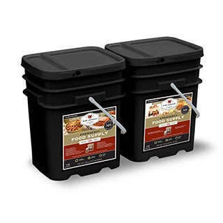 Wise Company Long Term 240-serving Emergency Food Package - 1 month, 2 servings per day- 4 people