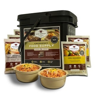 Wise Company Grab N' Go 56-serving Breakfast/ Entree Long Term Food Bucket