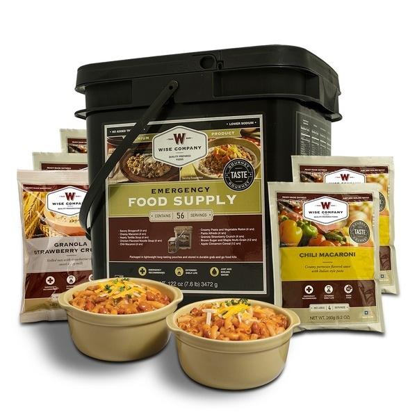 Wise Company Grab N' Go 56-serving Breakfast/ Entree Long Term Food Bucket