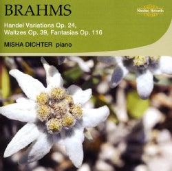 Misha Dichter - Brahms: Handel Variations, Waltzes & Fantasias