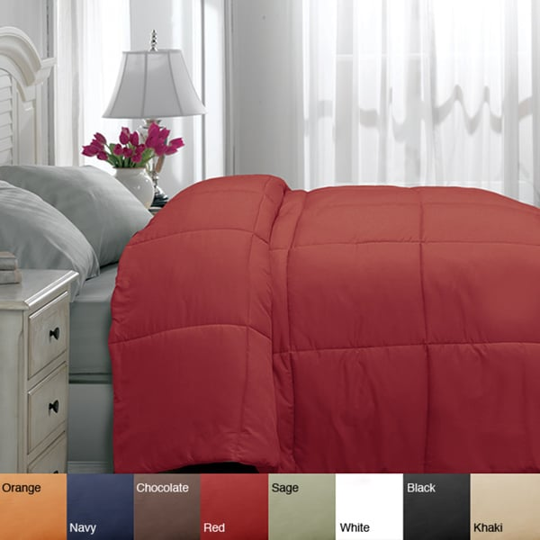 Shop Microfiber Twin Xl Size Down Alternative Comforter