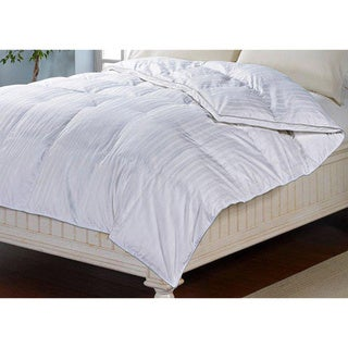 Beautyrest 300 Thread Count Cotton Stripe Down Alternative Comforter