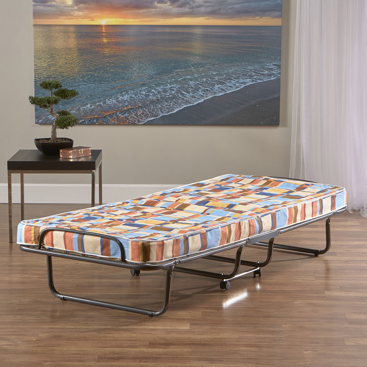- Shop InnerSpace Folding Twin-size Roll-away Guest Bed - Overstock