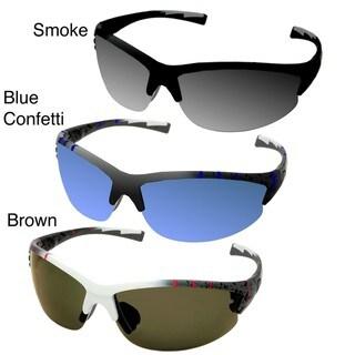 Pepper's Men's 'Interface' Polarized Sport Sunglasses